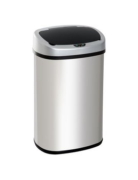 Homcom Gallon Stainless Steel Automatic Motion Sensor Trash Can by Hom Com