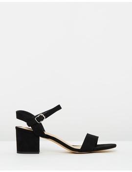Iconic Exclusive   Lexi Block Heels by Dazie