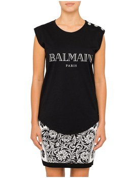 Sleeve Less Balmain Tank by Balmain