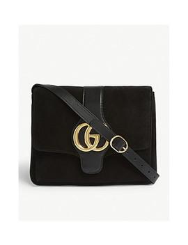 Arli Suede Medium Shoulder Bag by Gucci