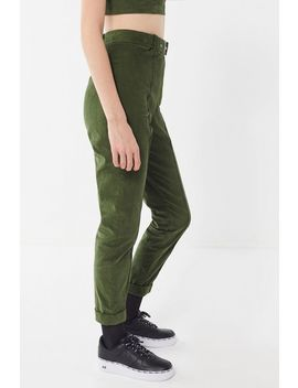 Uo Kolby Corduroy Belted High Rise Pant by Urban Outfitters