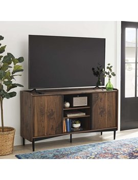 "Better Homes & Gardens Montclair Tv Storage Console For T Vs Up To 65"", Vintage Walnut Finish by Better Homes & Gardens"