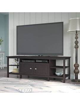 Montclair Tv Stand In Espresso Oak For Tv's Up To 75 Inches by Bush Furniture