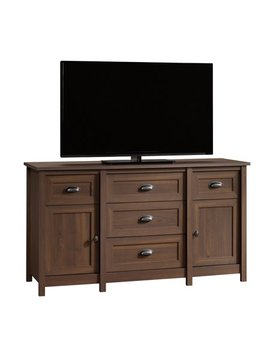 "Better Homes & Gardens Lafayette Entertainment Credenza For T Vs Up To 50"", English Walnut Finish by Better Homes & Gardens"