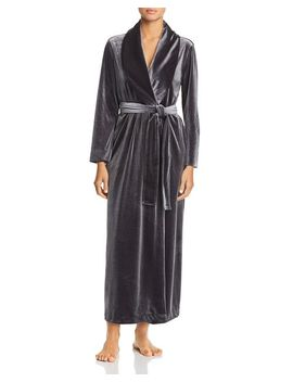 Natalie Long Velvet Robe by Natori