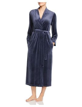Velvet Long Robe by Natori