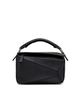 Viviesta Women's Genuine Leather Tangram Shoulder Bag by Viviesta