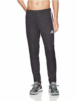 Adidas Men's Tiro17 Training Pants, Black/White/White, S/P by Amazon