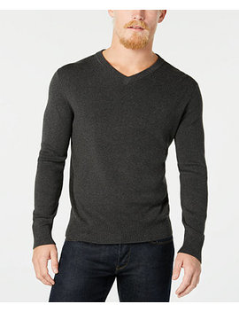 Men's Ribbed Sweater by Calvin Klein