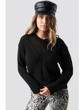 Knitted Detailed Tofa Sweater by Trendyol