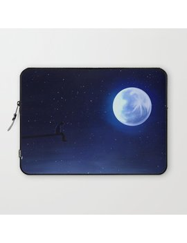 Jimin Serendipity Talking To The Moon Laptop Sleeve by