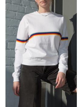 Orlena Rainbow Sweatshirt by Brandy Melville