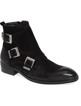 Triple Buckle Monk Boot by Karl Lagerfeld Paris
