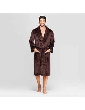 Men's Plush Robe   Goodfellow &Amp; Co™ Raspberry by Goodfellow & Co
