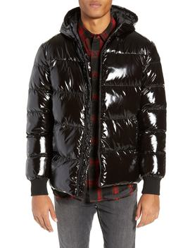 Hooded Puffer Jacket by The Rail