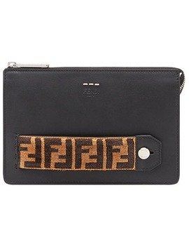 Selleria Zipped Pouch by Fendi