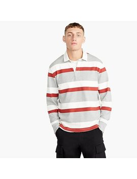 1984 Rugby Polo In Red Stripe by J.Crew