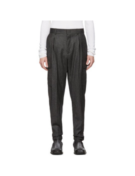 Grey Dover Cargo Pants by Stella Mccartney