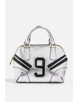 No9 Spot Bowler Bag by Topshop