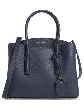 Medium Margaux Leather Satchel by Kate Spade New York