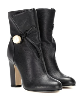 Ankle Boots Bethanie 100 Aus Leder by Jimmy Choo