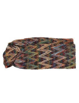 Zig Zag Lurex Headband by Missoni