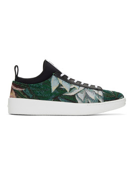 Green Memento K City Sneakers by Kenzo