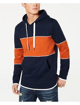 Men's Colorblocked Hoodie, Created For Macy's by American Rag