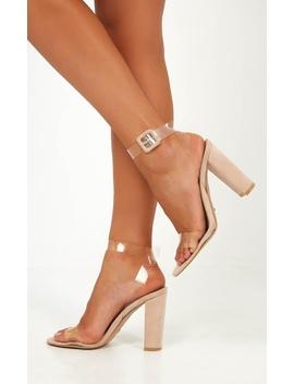 Billini   Jaz Heels In Blush Micro by Showpo Fashion
