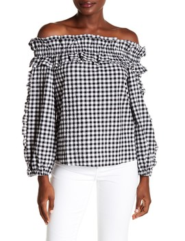 Ava Ruffle Top by Rachel Rachel Roy