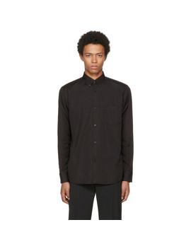 Ssense Exclusive Black Spider Web Legacy Shirt by Cobra S.C.
