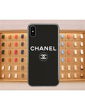Chanel I Phone Case Inspired Coco Chanel I Phone X Case Chanel Black I Phone Xs Max Case Samsung, Black Chanel Phone Case I Phone 8 Chanel Us562 by Etsy