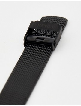 Fossil Es4467 Neely Mesh Watch In Black 34mm by Fossil