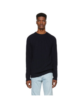 Navy Jacopo Sweater by A.P.C.