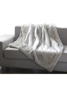 Mistana Thiele Luxury Tip Dye Faux Fur Throw & Reviews .Ca by Mistana