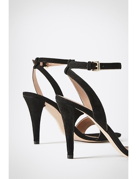 Olive Suede Heel by Witchery