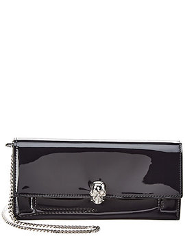 Alexander Mc Queen Patent Wallet On Chain by Alexander Mc Queen