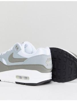Zapatillas De Deporte En Color Crema Y Caqui Air Max 1 Premium De Nike by Asos