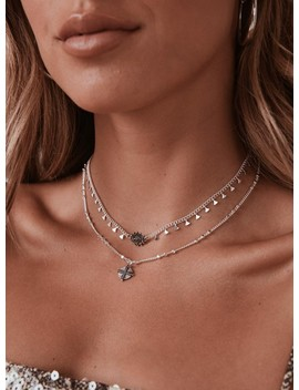 Minc Collections Night Sky Choker Silver by Minc Collections