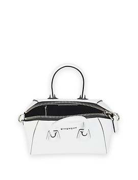 Antigona Mini Patent Leather Duffel Bag by Givenchy