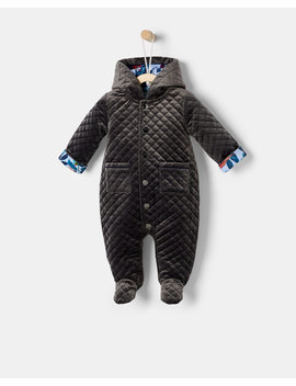Velour Snuggle Suit by Ted Baker