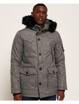 Everest Tweed Parka Jacket by Superdry