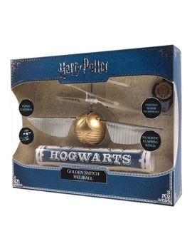 Golden Flying Snitch by Harry Potter