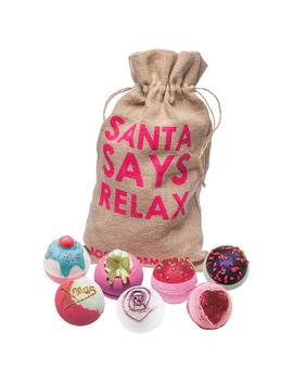 Santa Says Relax Sack by Bomb Cosmetics