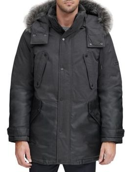Faux Fur Hooded Parka by Marc New York