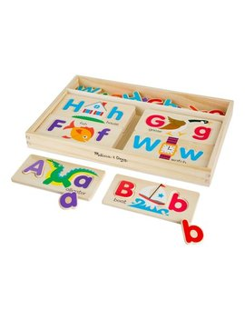 Abc Picture Boards Set by Melissa & Doug