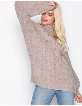 Caren H Cable Pullover by Moss Copenhagen
