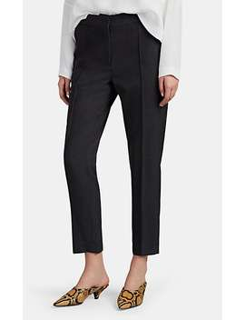 Tean Wool Flat Front Trousers by Iro