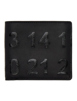 Black Logo Wallet by Maison Margiela