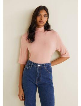 T Shirt Emmanchures Américaines by Mango